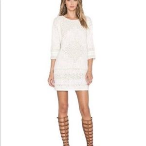 F R E E  P E O P L E Desert Song Ivory Shift Dress